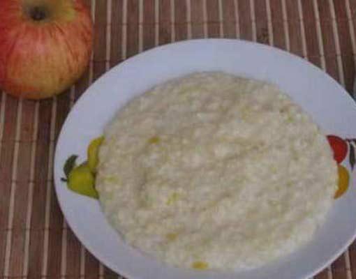 Молочная рисовая пшенная каша