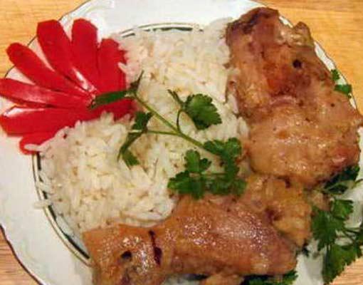 Рис с овощами в рукаве рецепт